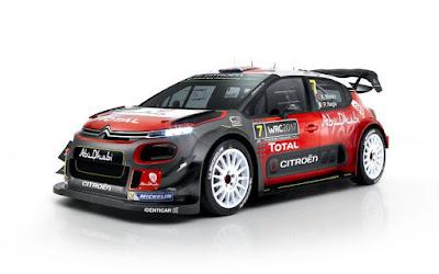 Το νέο Citroen C3 WRC στο Monte Carlo