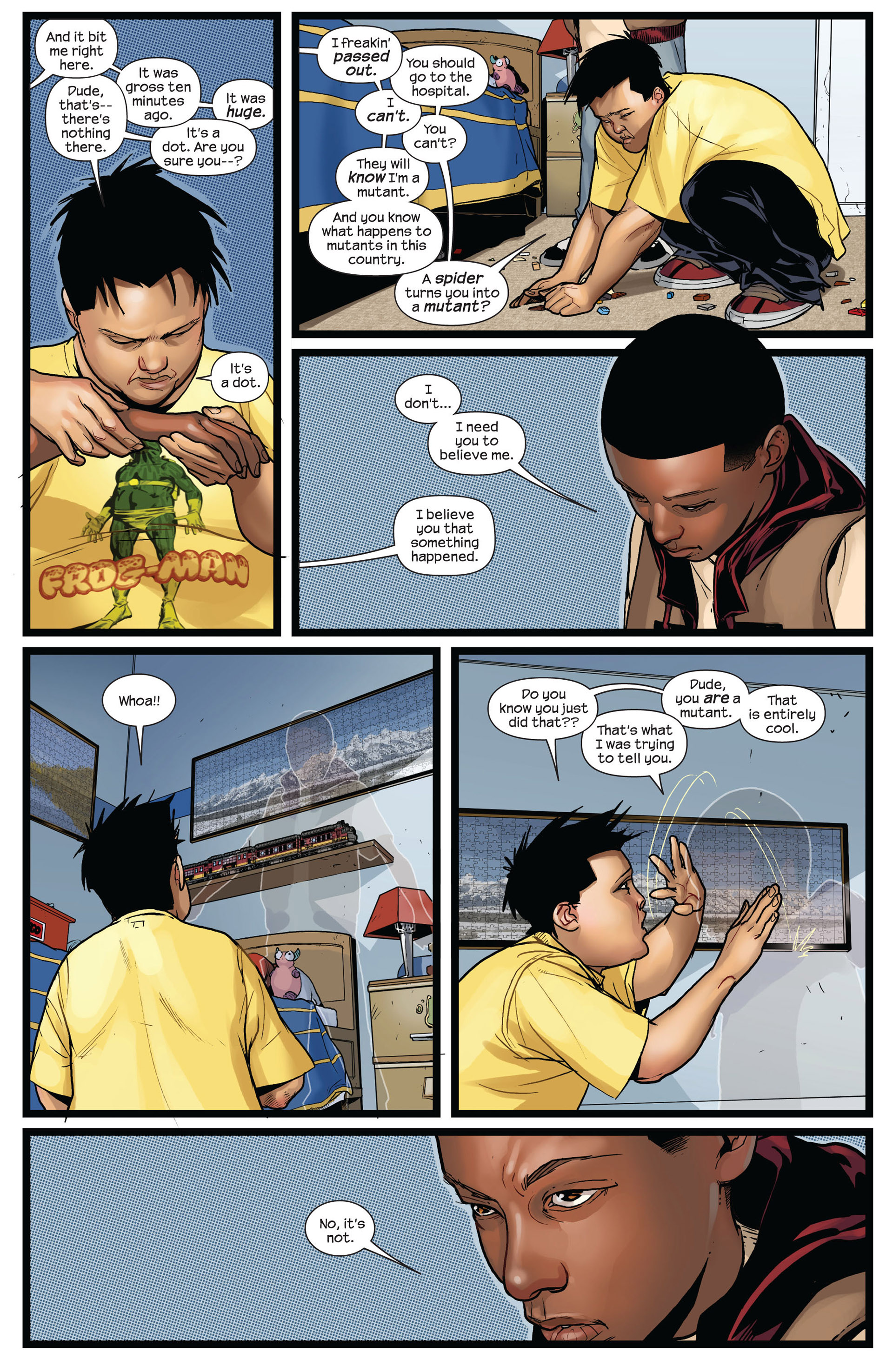 Read online Ultimate Comics Spider-Man (2011) comic -  Issue #2 - 11