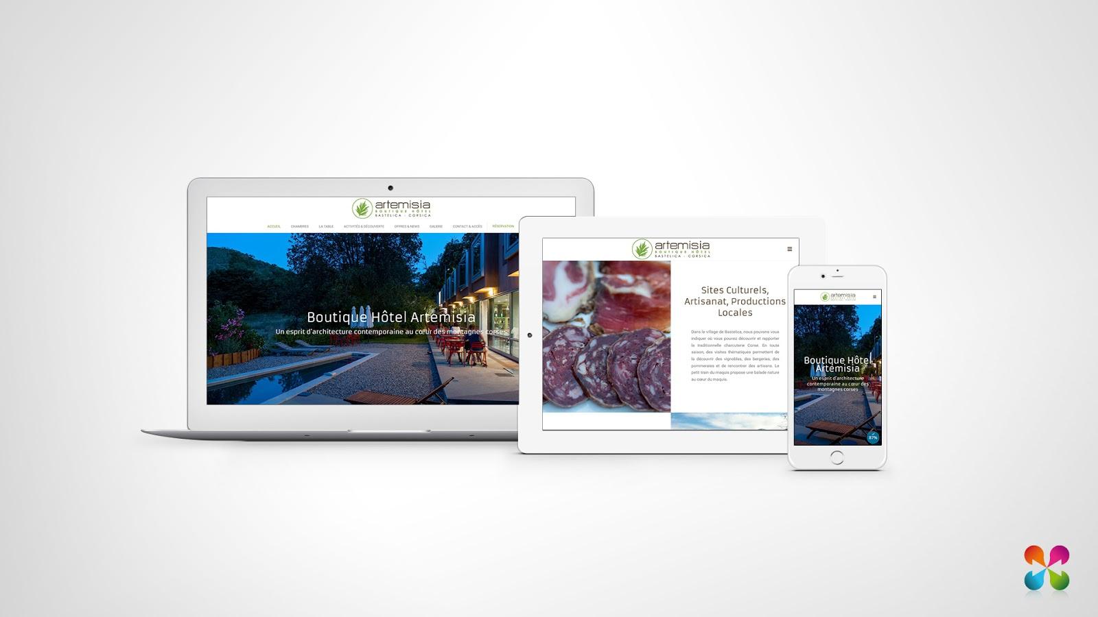Diadao le blog officiel nouveau site web pour l h tel for Site web pour hotel