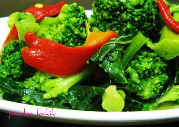brokoli salatası ve mezesi