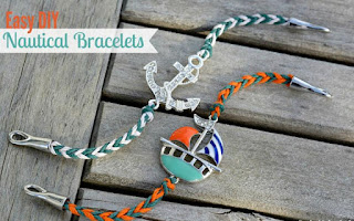 Sailboat & Anchor Bracelets