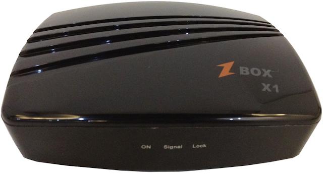 Azfox Zbox X1 nova atualização sks 58w - 24/07/2016