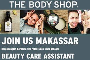 Lowongan Kerja di Body Shop Makassar (tutup 15 Januari 2019)
