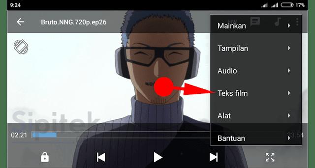 Cara Menggabungkan Subtitle dengan Film di Android