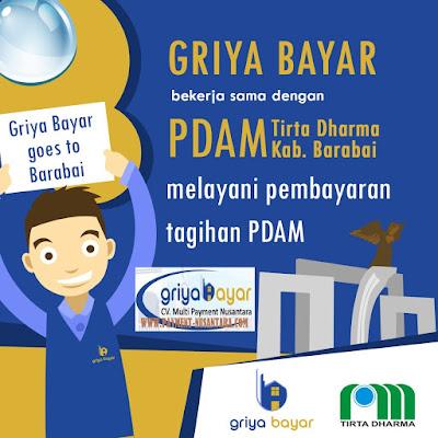 Cara Daftar Griya Bayar PDAM Kabupaten Barabai Kalimantan Selatan