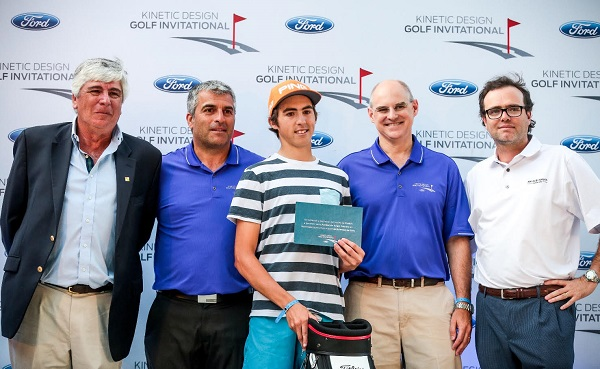 Se disputó la final del Ford Kinetic Design Golf Invitational 2015