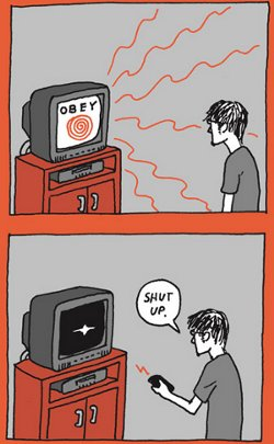 Tv a negative influence on society