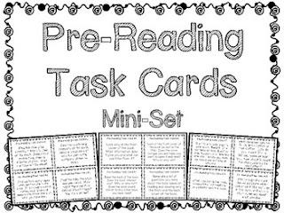 Task Card Corner: Literacy Task Cards