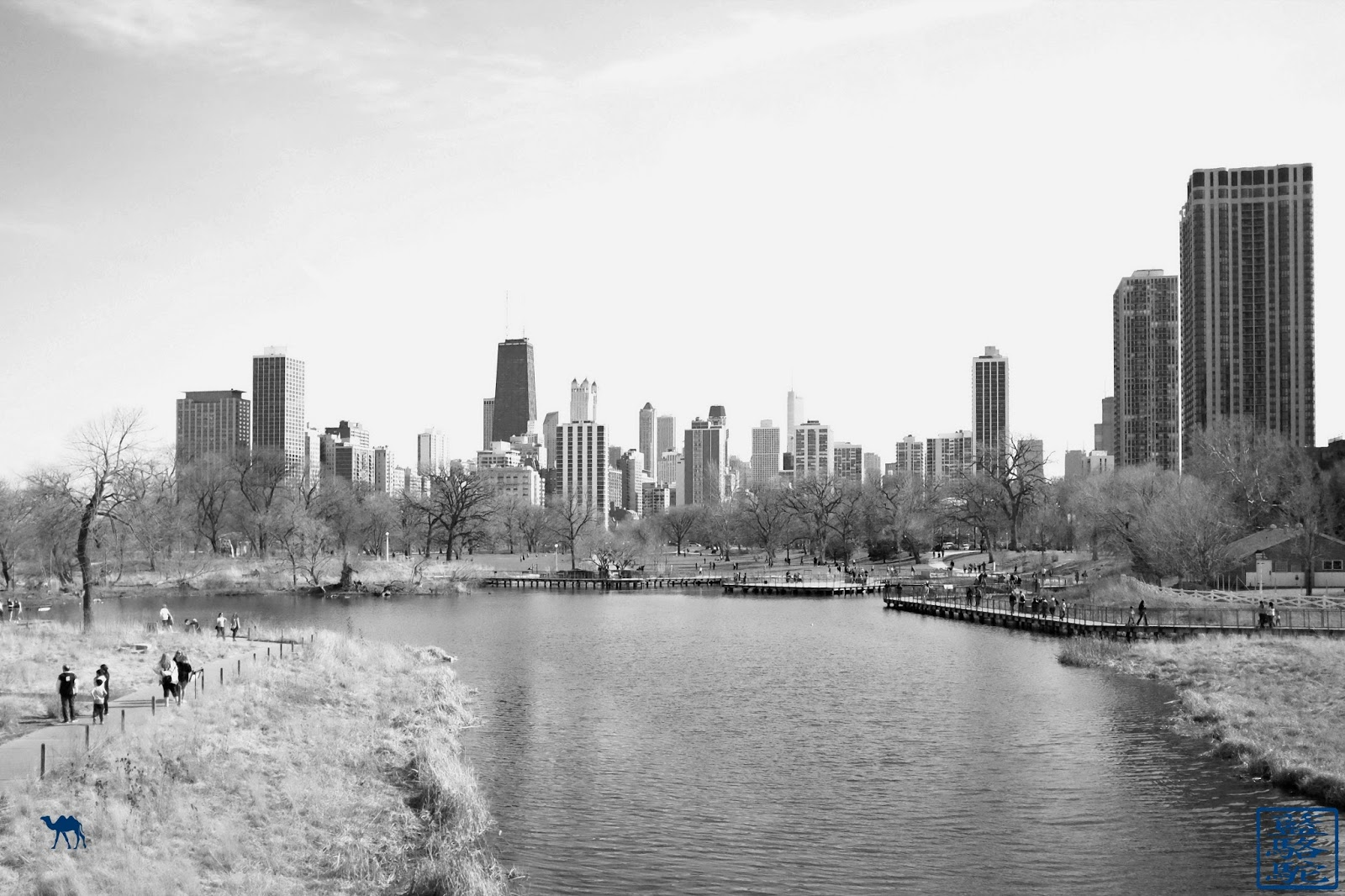 Le Chameau Bleu - Blog Voyage Chicago USA -  Parc de Chicago Lincoln Park - Que faire à Chicago