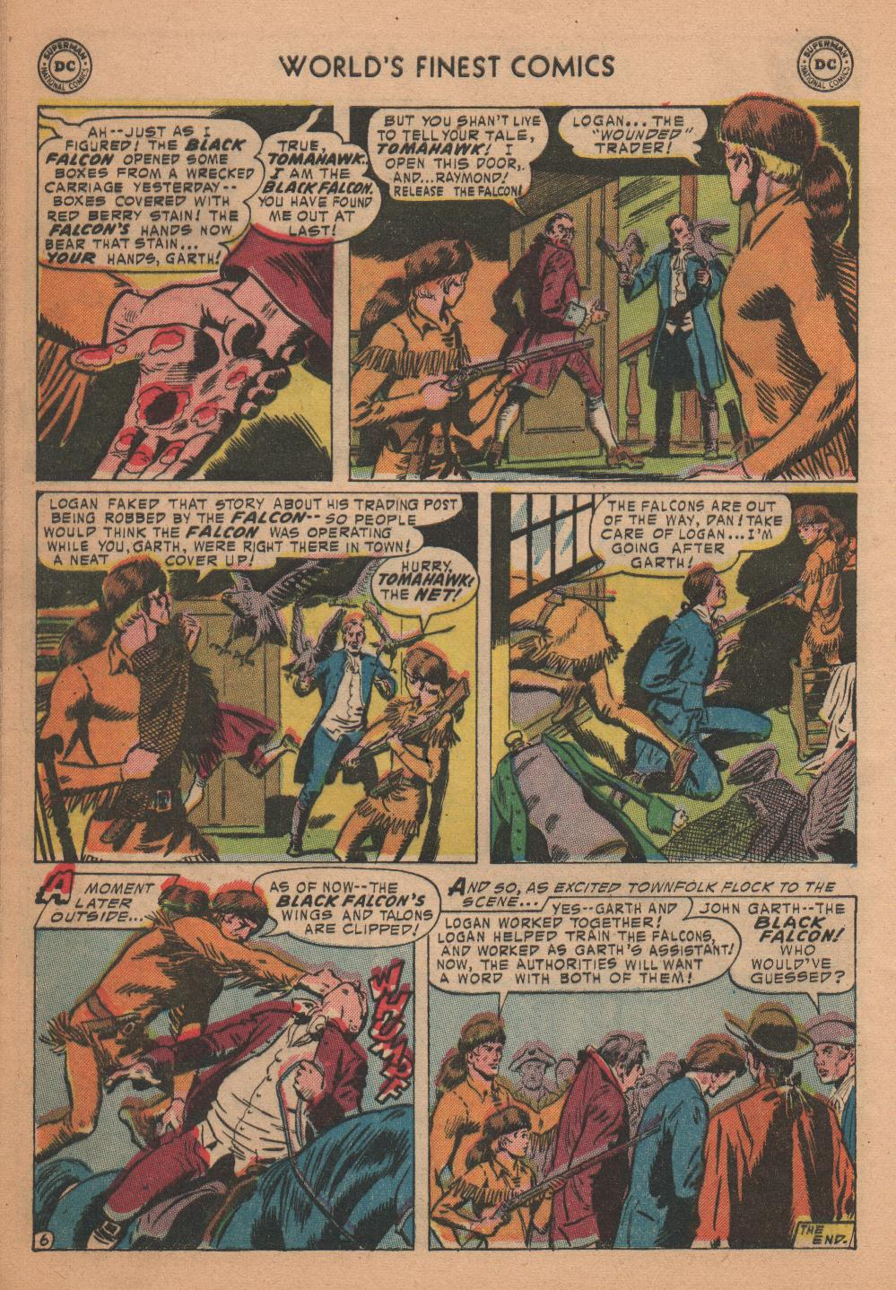Read online World's Finest Comics comic -  Issue #72 - 32