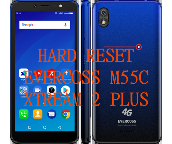 hard reset Evercoss M55C