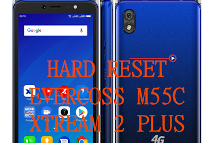 Cara Hard Reset Evercoss M55C Lupa Pola via Recovery Mode