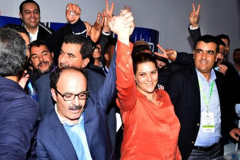 المنصوري تستقيل... ووهبي يتهم العماري بدفع الحزب نحو الهاوية