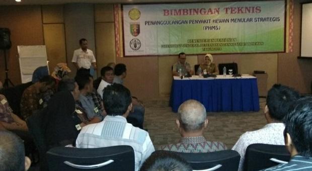 Kementan Gandeng Kemenkes Gelar Bimtek PHMS Cegah & Berantas Rabies