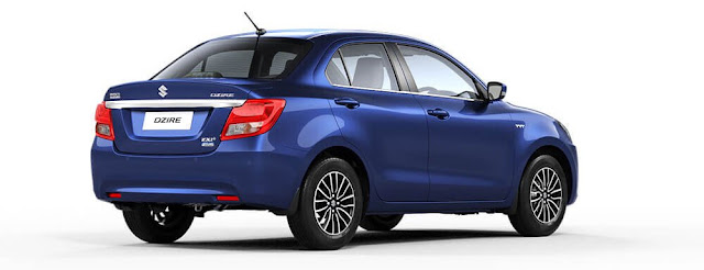 Maruti suzuki Dzire side HD Three qauter image