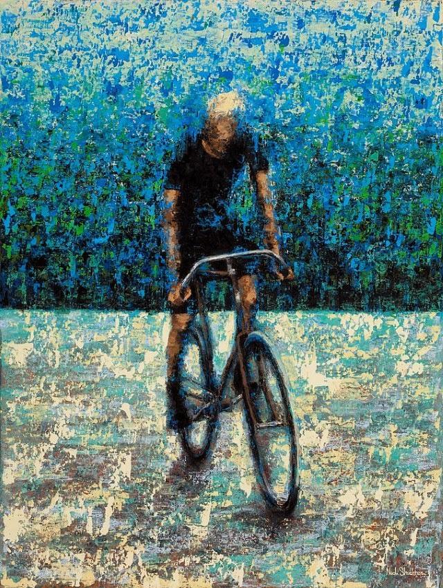 Молодой американский художник. Ned Shuchter