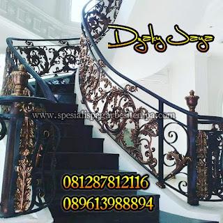 Harga railing tangga klasik modern