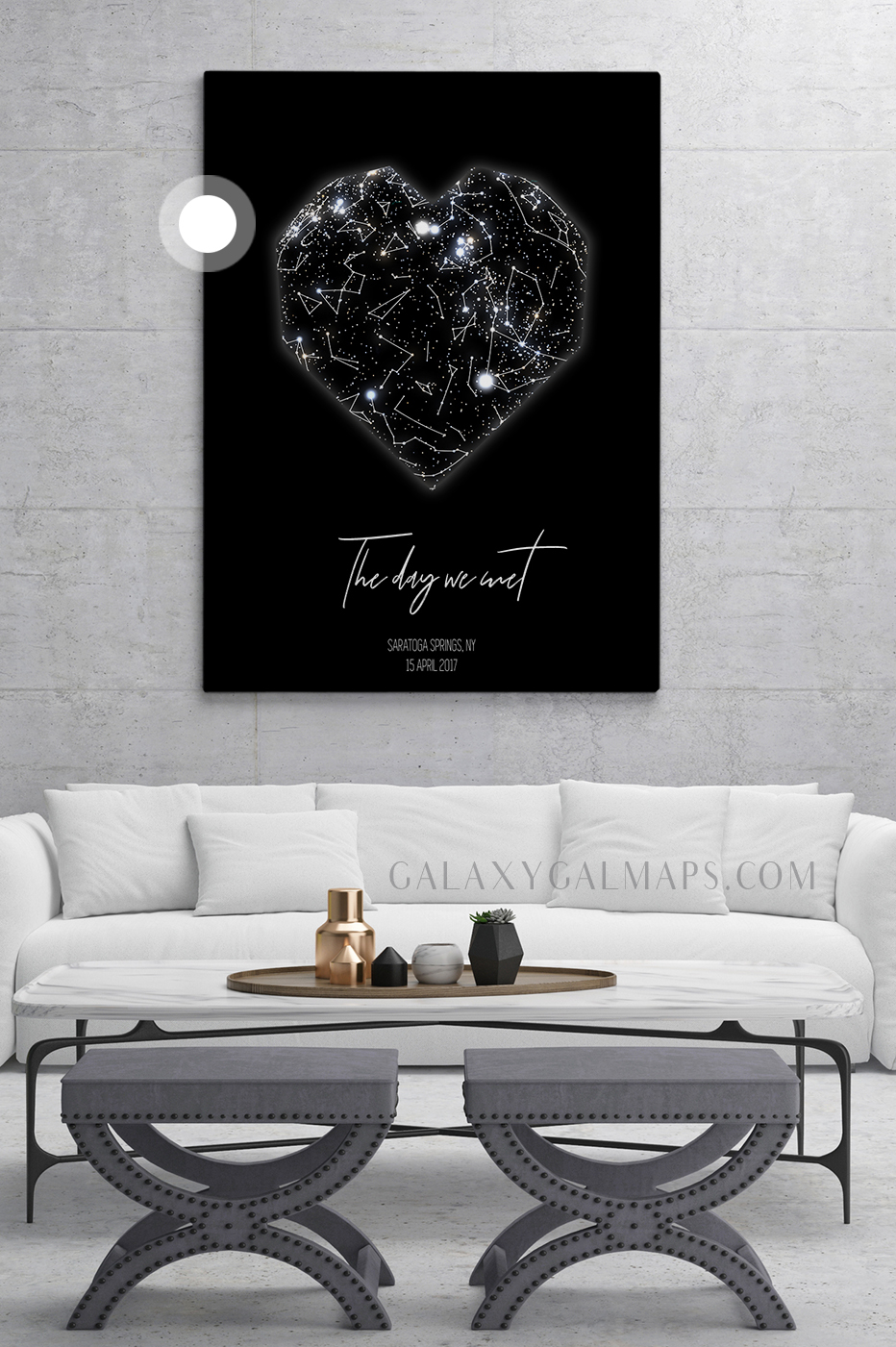 star map by date and location romantic gift wall art 1 year down print 1 year anniversary gift gift for husband gift for wife 1st anniversary
