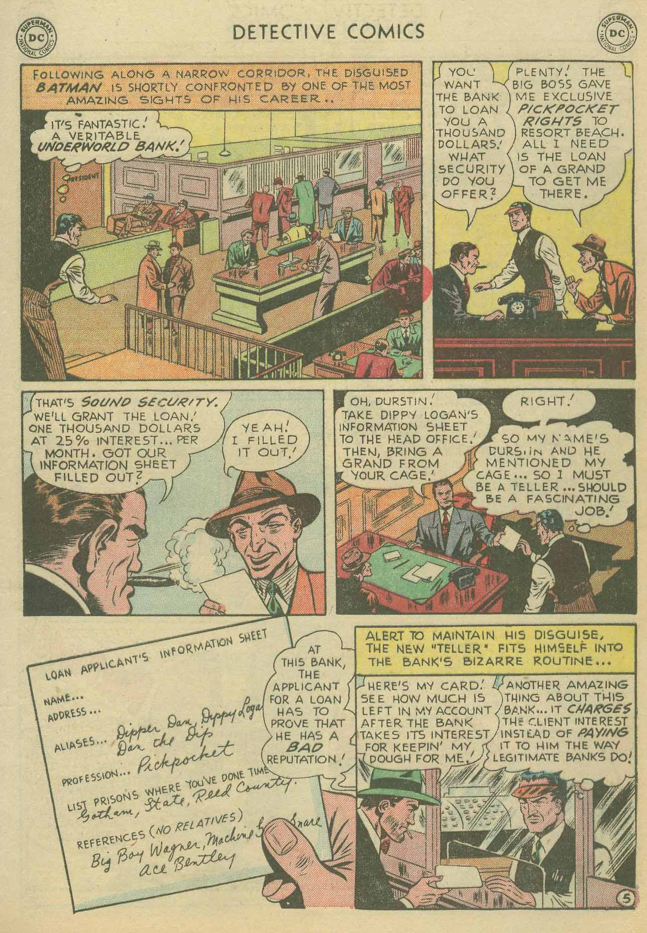 Read online Detective Comics (1937) comic -  Issue #175 - 7