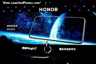 This is the latest flagship mobile vociferation Honor Magic 2 launched alongside the half dozen cameras