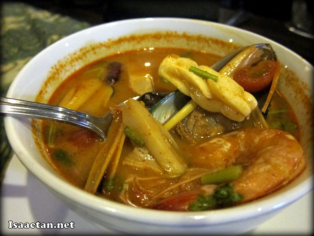 Traditional Thai Thick Tom Yam with Seafood - RM20