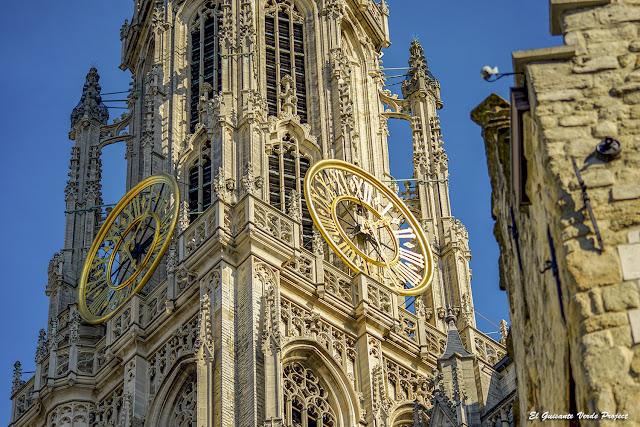 Catedral de Nuestra Señora (torre) - Amberes por El Guisante Verde Project