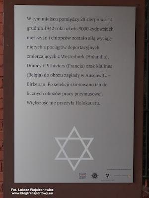 Kędzierzyn-Koźle Zachodnie, tablica pamiątkowa