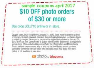 free Walgreens coupons for april 2017