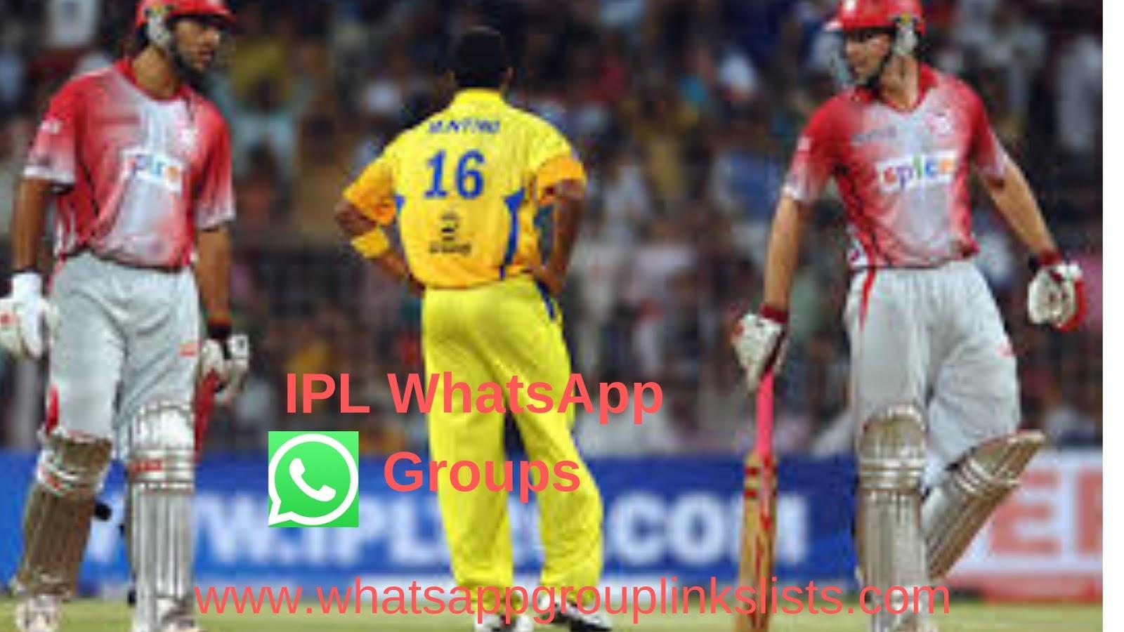 Join Latest IPL WhatsApp Group Links List