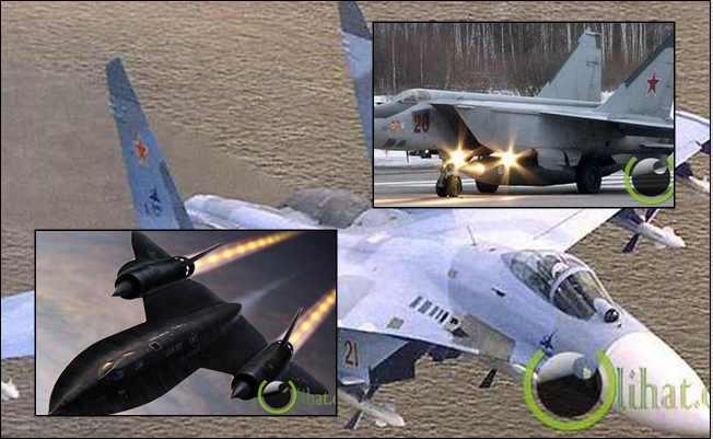 10 Pesawat Perang Tercepat yang pernah Diciptakan Manusia di Dunia