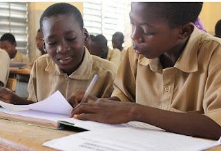 Burkina Faso school kids