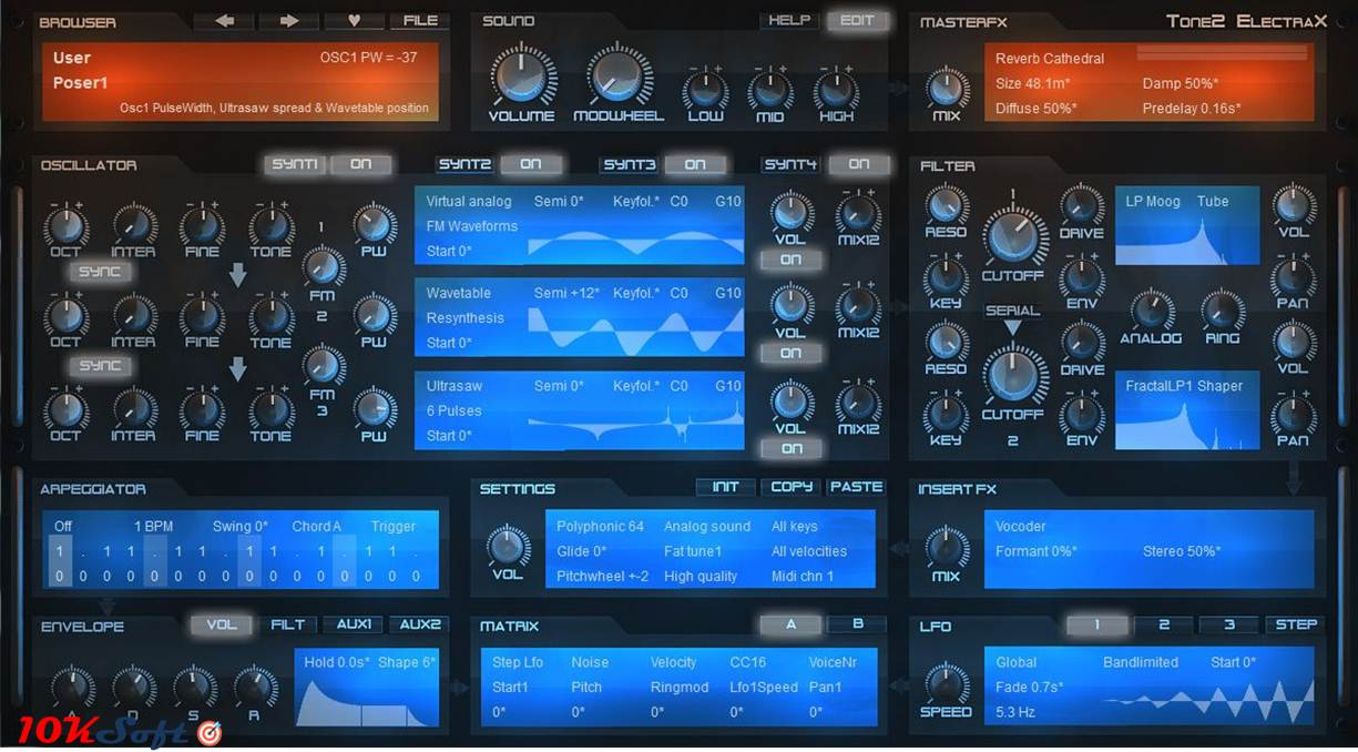 Download Tone2 Electra2 Latest Version DMG for Mac OS