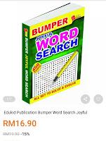 Buku search word yang memiliki mukasurat yang sangat banyak