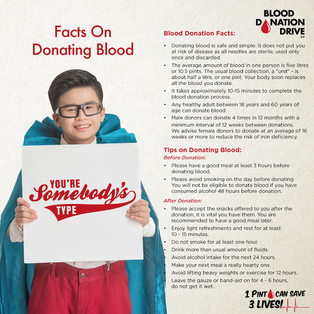 Facts On Donating Blood