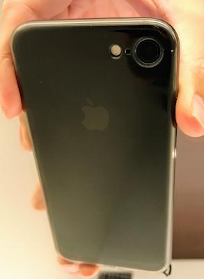 iPhone7ケース装着