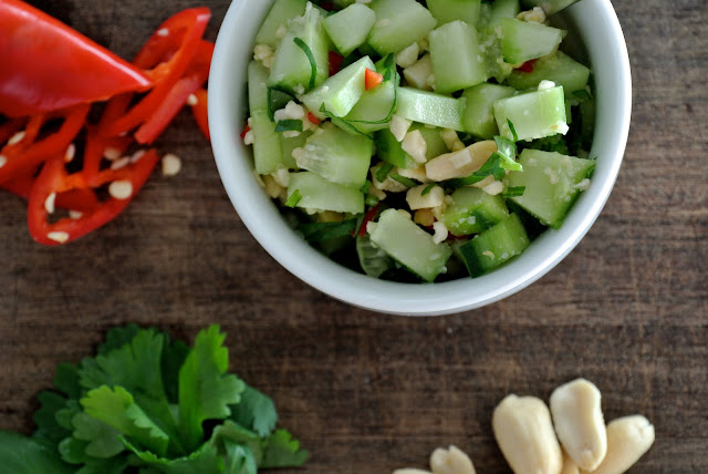 Spicy Thai Cucumber Relish