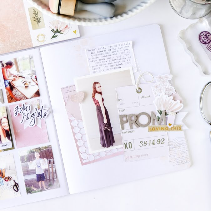 Scrapbooking THE story Process Video by Jamie Pate