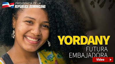 Yordany, futura embajadora