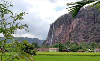 Air terjun Payakumbuh, Ngarai Harau - Sumatera Barat
