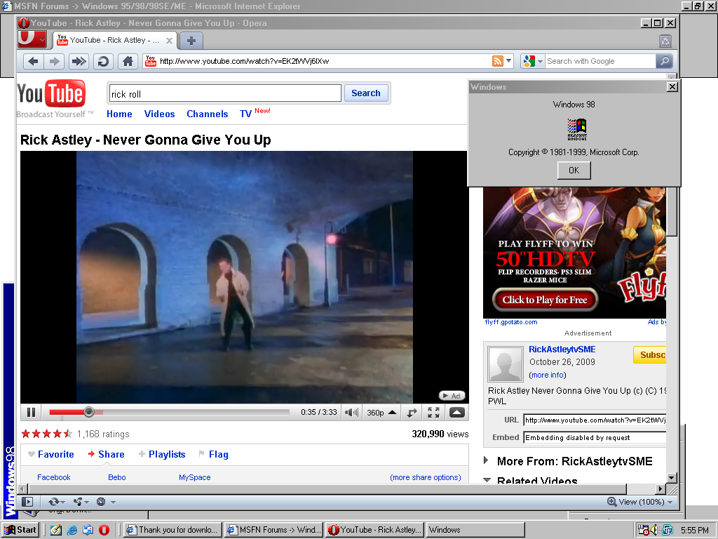 Free Download Microsoft Windows 98 Ultimate Professional