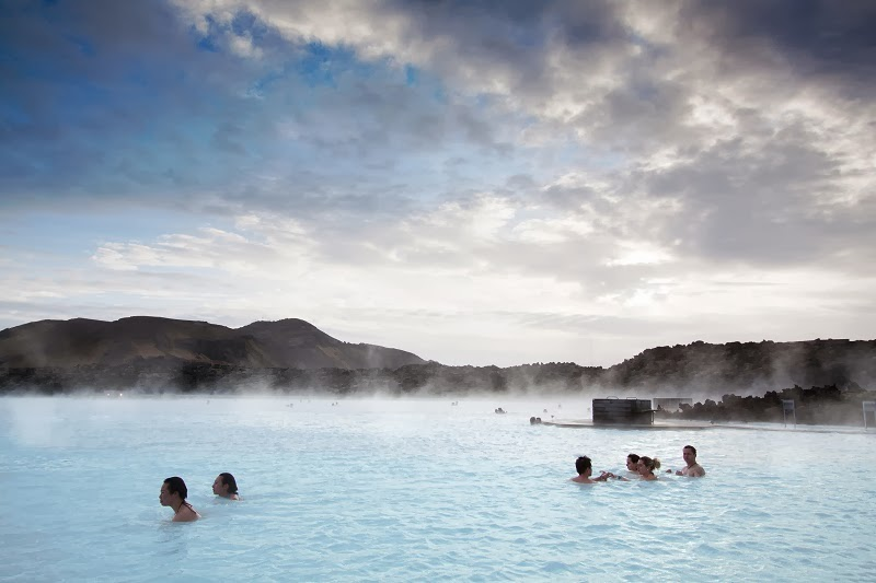 The Relaxing Pleasures in Hot Blue Lagoon, Iceland
