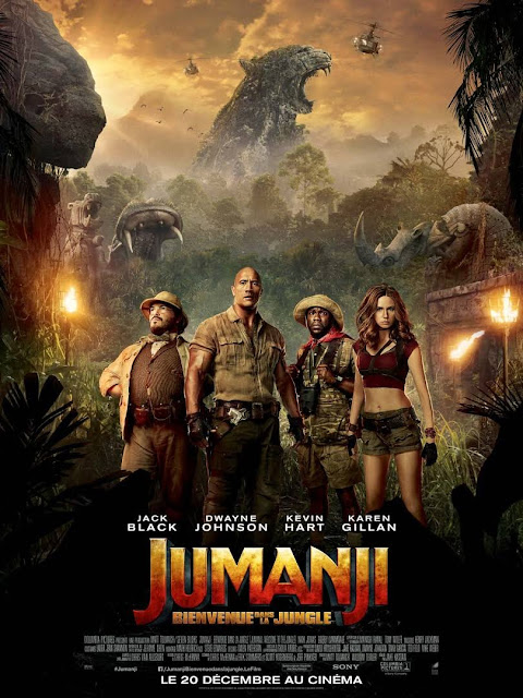 cinema Jumanji les petites bulles de ma vie