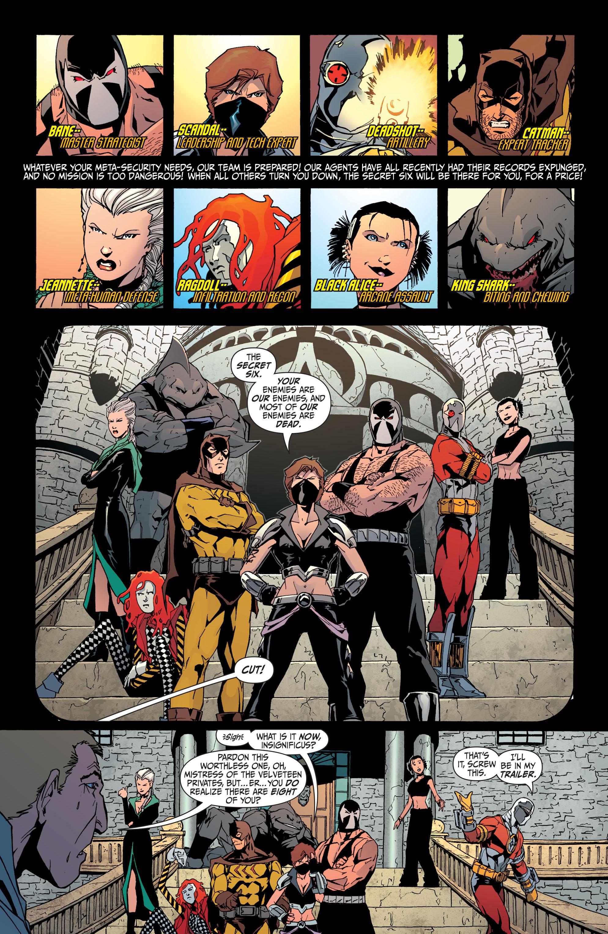 Read online Secret Six (2008) comic -  Issue #31 - 3