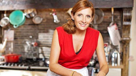 Sofie Dumont in haar nieuw dagdagelijks kookprogramma De Keuken van Sofie