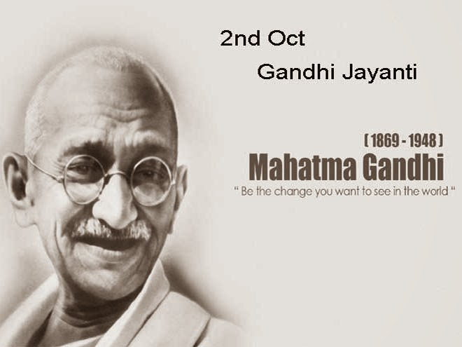 gandhi birthday WYN: Gandhi Jayanti(2nd Oct 1869) India to celebrate Mahatma  gandhi birthday