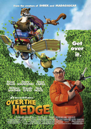 Over The Hedge 2006 DVDRip 480p Dual Audio 300Mb