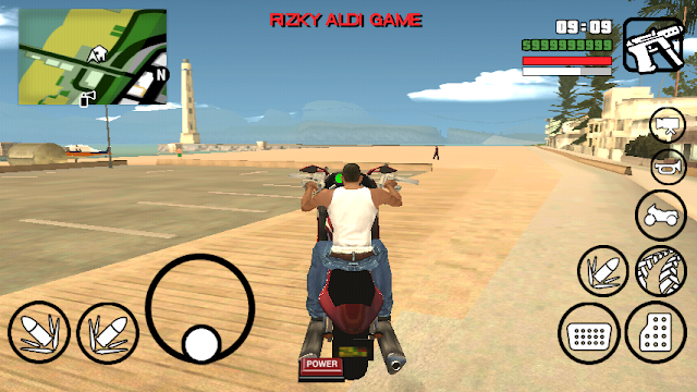 Hakuchou Bike Mod GTA San Andreas Android by rizky game