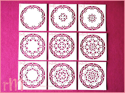 Stampin' Up! rosa Mädchen Kulmbach: Tipps und Tricks zu den Thinlits Formen Orientpalast
