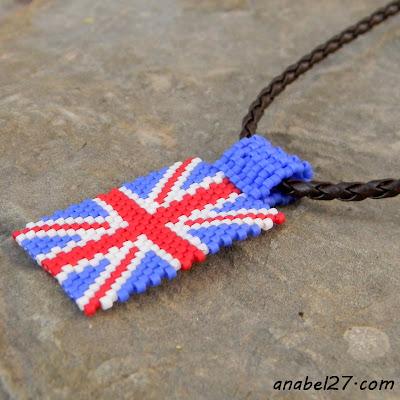 купить британский флаг из бисера украина