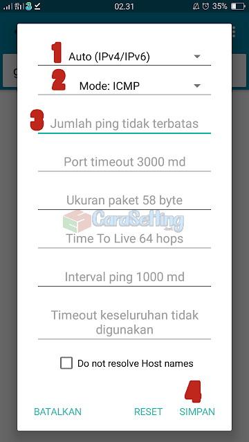 Ping Tools Pro Telkomsel Semoga Stabil 4